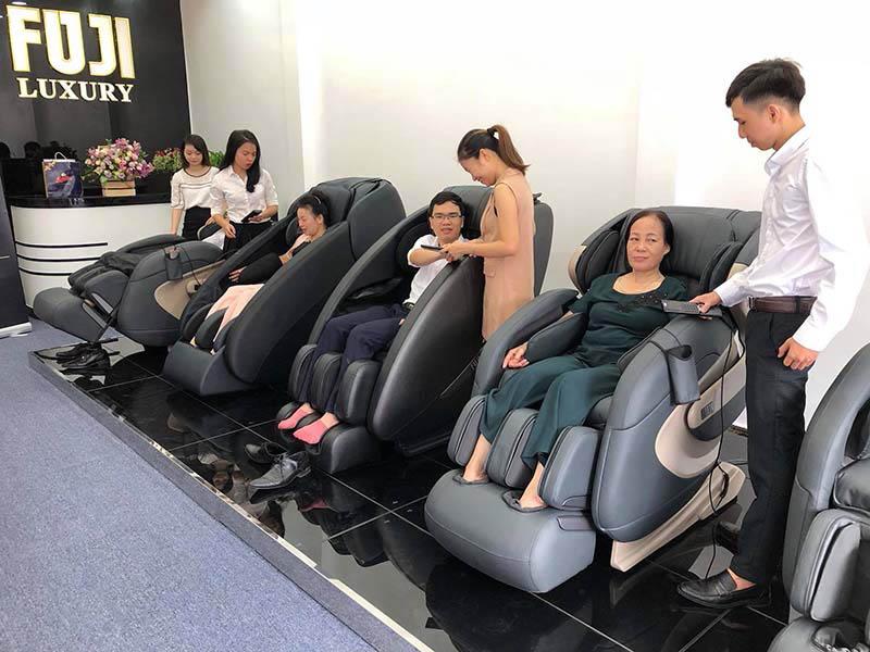 Cơ sở phân phối ghế massage nội địa Nhật chính hãng là nơi khách hàng nên tìm đến để tránh rủi ro.