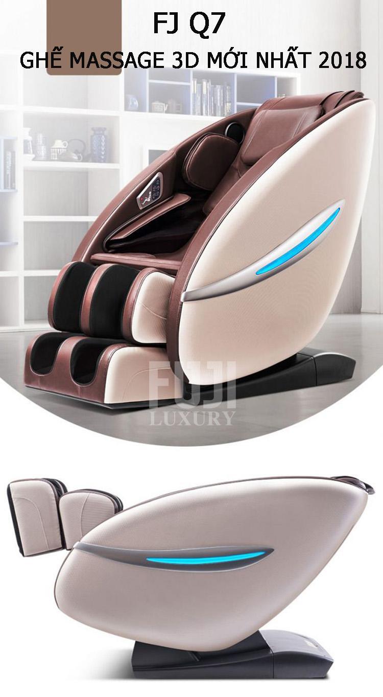 FJ Q7 - Ghế massage 3D mới nhất năm 2018.