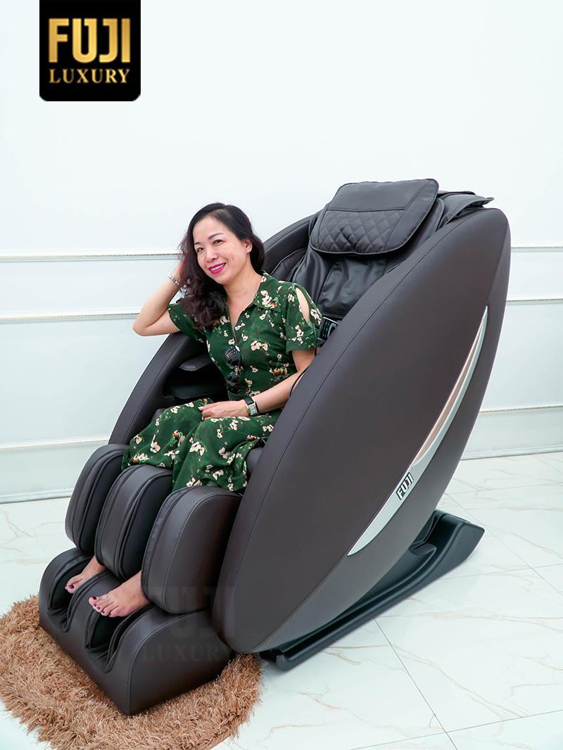 Đỉnh cao công nghệ về trị liệu mất ngủ - ghế massage FJ 566
