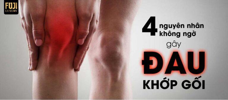 4 Nguyên nhân không ngờ gây đau khớp gối