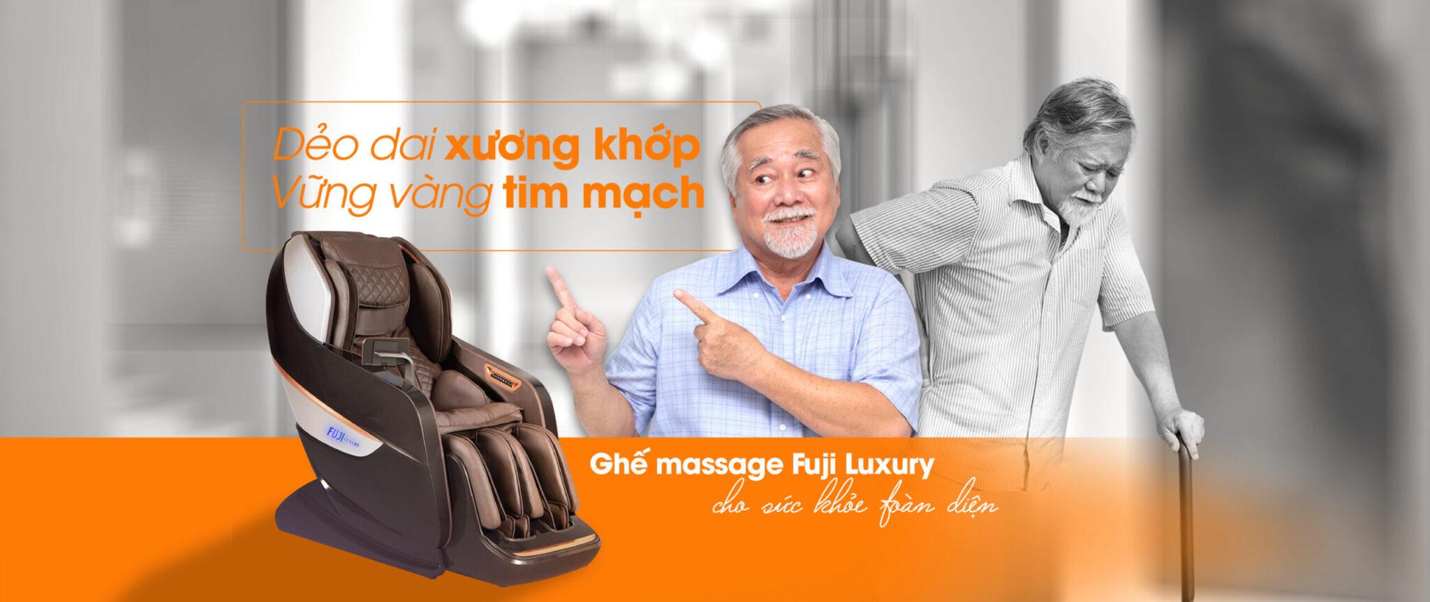 Ghế massage cho mọi nhà