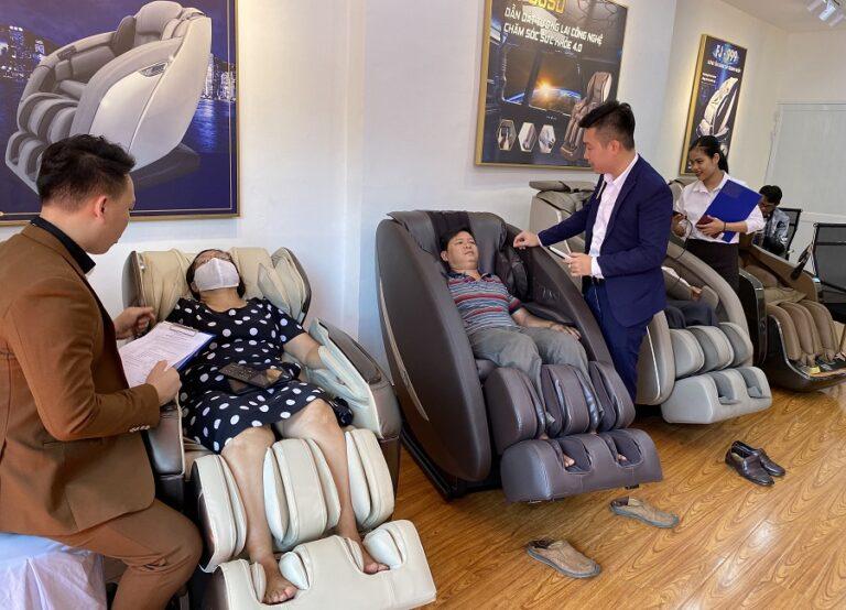 Địa chỉ bán ghế massage toàn thân tại Cà Mau