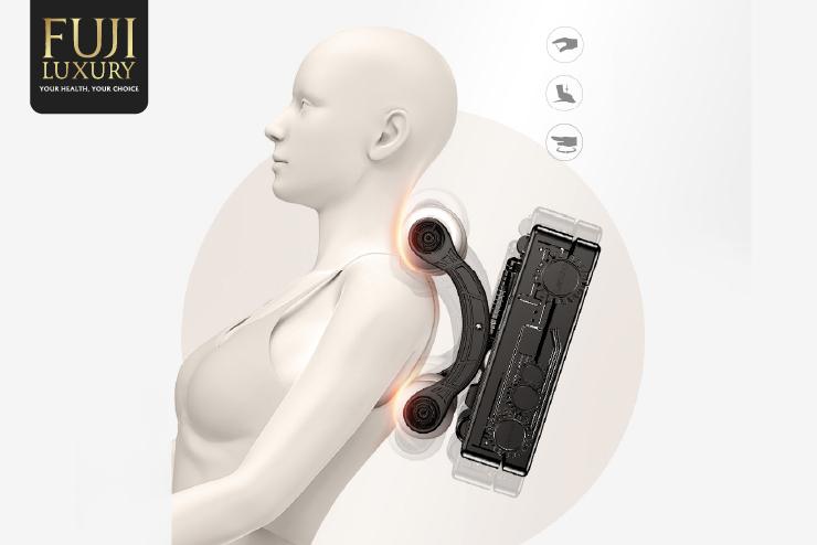 Massage những vùng cổ, vai, gáy thường xuyên bị đau nhức