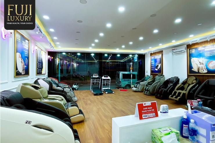 Fuji Luxury địa chỉ tin cậy để mua các sản phẩm ghế massage chăm sóc sức khỏe