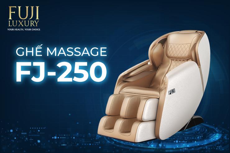 Ghế massage FJ 250 - Trải nghiệm thư giãn ngay tại nhà