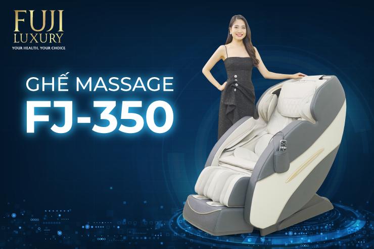 Ghế massage FJ 350 - Giảm nhanh chóng những cơn đau nhức