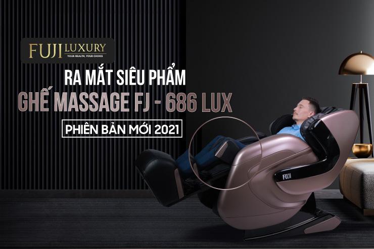 [HOT] Ra Mắt Siêu Phẩm Ghế Massage FJ-686 Lux-Tính Năng Massage Đầu Gối Độc Quyền